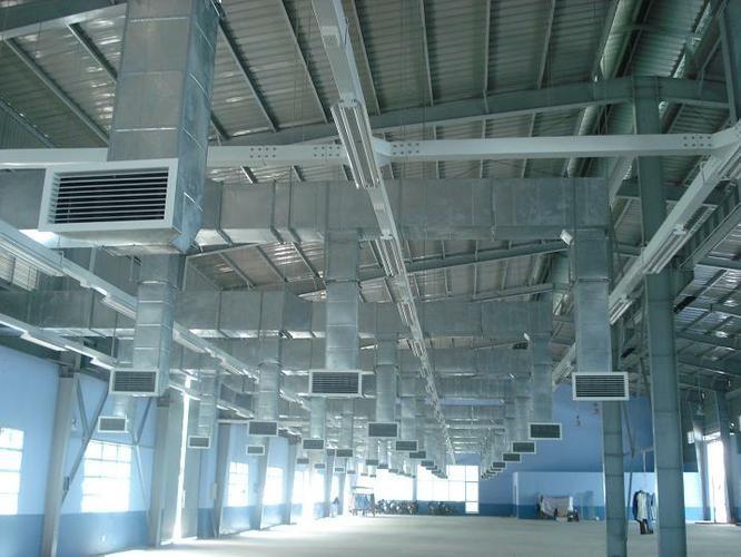 Đường ống thông gió cấp gió tươi để cung cấp gió tươi cho phòng điều hòa cần lắp đặt hệ thống thông gió cấp trực tiếp vào khu vực yêu cầu hoặc cấp gián tiếp vào dàn lạnh